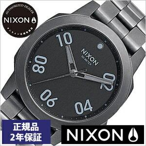 【おひとり様1点限り!】ニクソン腕時計 NIXON時計 NIXON 腕時計 ニクソン 時計 レンジャー Ranger 40 All Gunmetal メンズ ブラック NA468632-00[メタル 正規品 アナログ カスタム グレー オール ガンメタル][送料無料][プレゼント ギフト][あす楽]