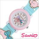 サンリオ腕時計 sanrio時計 sanrio 腕時計 サンリオ 時計 3Dベルトウォッチ マイメロディ my melody男の子 女の子 キッズ 子供用 ホワイト SR-V06[アナログ キッズウォ
