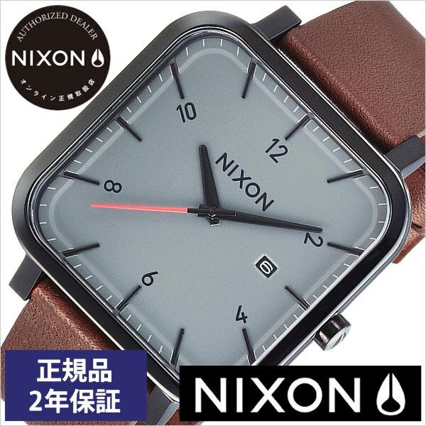 【おひとり様1点限り!】ニクソン腕時計 NIXON時計 NIXON 腕時計 ニクソン 時計 ラグナー Ragnar メンズ グレー NA939017-00[革 ベルト 正規品 アナログ カスタム ブラック ブラウン 防水 ホーウィン][送料無料][プレゼント ギフト][あす楽]