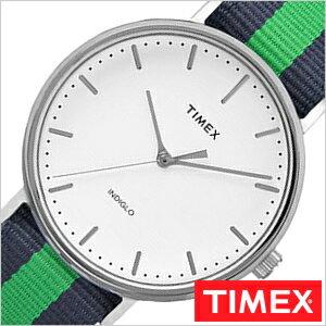 【おひとり様1点限り】タイメックス腕時計 TIMEX時計 TIMEX 腕時計 ウィークエンダー フェアフィールド Weekender Fairfield 41mm メンズ ホワイト TW2P90800[正規品 NATO ベルト ナトー 新品 ファッションウォッチ シンプル ブルー ネイビー グリーン シルバー]