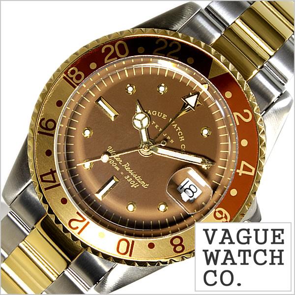ヴァーグ ウォッチ コー腕時計 VAGUE WATCH Co.時計 VAGUE WATCH Co. 腕時計 ヴァーグ ウォッチ コー 時計 ブラウン ジーエムティー BRWN GMT メンズ ブラウン BG-L-001-SB[正規品 人気 流行 ブランド 防水 メタル ベルト ナイロン ゴールド][送料無料][C][あす楽]
