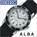 セイコー アルバ 腕時計 SEIKOALBA時計 SEIKO ALBA 腕時計 セイコー アルバ 時計 メンズ レディース ユニセックス 男女兼用 シルバー AQQS001[NATO ベルト 正規品