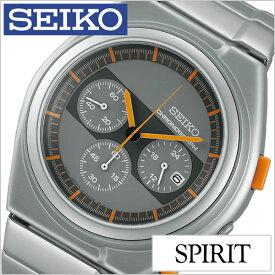 セイコー 腕時計 ジウジアーロ デザイン スピリット スマート SEIKO×GIUGIARO DESIGN 限定モデル セイコー腕時計 SEIKO時計 SEIKO 腕時計 セイコー 腕時計 スピリットスマート SPIRIT SMART メンズ グレー SCED057 限定 1000本 シルバー 秋