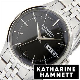 キャサリンハムネット 時計 KATHARINE HAMNETT 腕時計 イングリッシュ スリック ENGLISH SLICK メンズ腕時計 ブラック KH20G5-B34 正規品 人気 トレンド おすすめ 高級 イギリス おしゃれ オシャレ アンティーク ファッション メタル ベルト 入試 受験 成人式 お祝い 秋冬