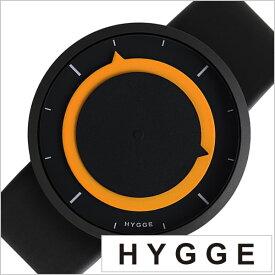 ヒュッゲ 時計 HYGGE 腕時計 3012 メンズ レディース ブラック イエロー HGE020027 正規品 北欧 ミニマル シンプル 個性的 インテリア 人気 ブランド プラスチック ペアウォッチ ユニセックス デザイナーウォッチ ファッション コーデ 送料無料 お祝い 冬