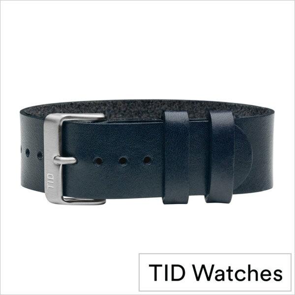 ティッドウォッチズ時計ベルト TIDWatches TID Watches 時計ベルト ティッド ウォッチズ メンズ レディース TID-BELT-SV-NV[正規品 ブランド 替えベルト 付け替え 交換 ベルト 腕時計 革 レザー 北欧][卒業 入学 就職 祝い 中学生 高校生 大学生 社会人][あす楽]