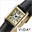 ヴィーダプラス腕時計 VIDA+時計 VIDA+ 腕時計 ヴィーダプラス 時計 ミニレクタンギュラー Mini Rectangular レディー…