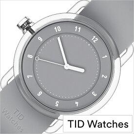 ティッド ウォッチズ 時計 No.3 限定モデル 38mm メンズ レディース TID watches 腕時計 グレー TID03-38GY 正規品 北欧 ミニマル 人気 ペアウォッチ ナンバースリー クリア TR90 ラバー ファッション ユニセックス プレゼント ギフト シンプル おしゃれ 秋