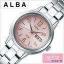 セイコー アルバ アンジェーヌ 時計 SEIKO ALBA ingenu 腕時計 レディース ピンク AHJD103[正規品 人気 定番 おすすめ…