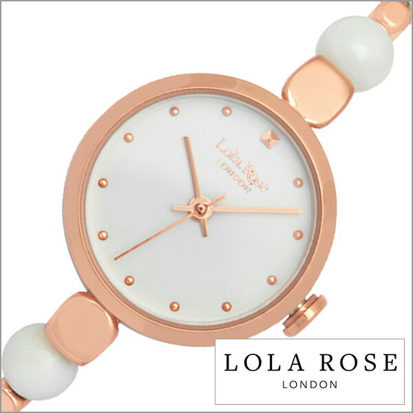 ローラローズ 腕時計 フレンドシップ Lola Rose 時計 Friendships レディース ホワイト LR4022[正規品 人気 ロンドン ブランド セレブ アクセサリー おしゃれ ファッション ブレスレット かわいい ピンクゴールド プレゼント ギフト][送料無料][あす楽]