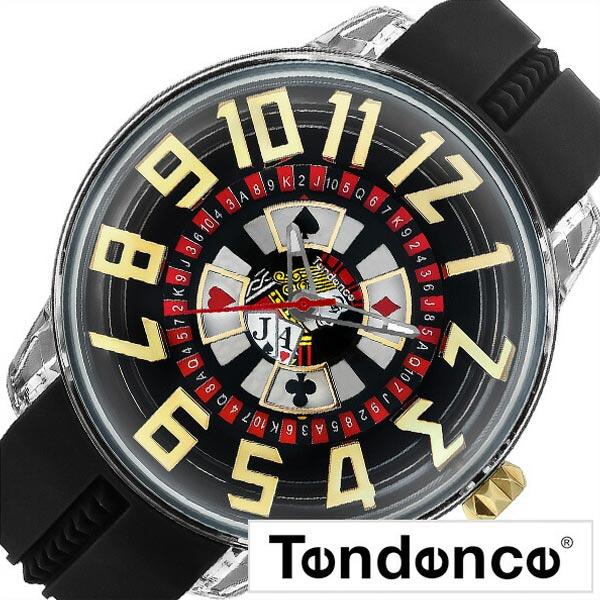 テンデンス 腕時計 キングドーム Tendence 時計 KingDome メンズ ブラック S-TY023005[正規品 定番 人気 イタリア ブランド ビッグフェイス 個性的 かっこいい おしゃれ ファッション トランプ ルーレット カジュアル シリコン プレゼント ギフト][送料無料]