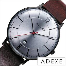 fe788a8fad アデクス 腕時計 グランデ ADEXE 時計 GRANDE メンズ シャイニーグレー 2046B-03[正規品 人気