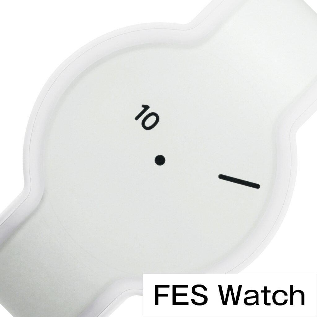 ソニー 腕時計 フェス ウォッチ ホワイト SONY 時計 FES Watch White メンズ レディース モノクロ FES-WM1S W[正規品 トレンド 電子ペーパー スマート ウォッチ 個性的 シンプル ミニマル デザイナーズ おしゃれ 人気 ペアウォッチ クリスマス プレゼント ギフト][あす楽]