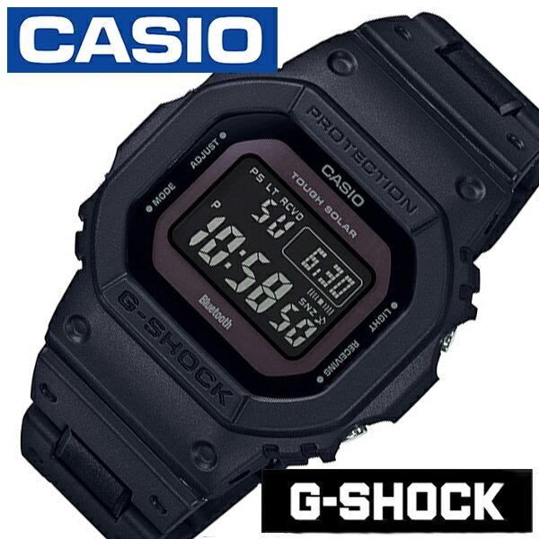 カシオ ジーショック ソーラー 電波 時計 CASIO G-SHOCK 腕時計 メンズ ブラック GW-B5600BC-1BJF[Gショック ブランド 防水 カジュアル ファッション デジタル DW-5600 頑丈 人気 アプリ プレゼント ギフト]