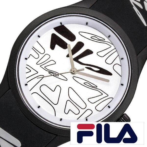 フィラ 時計 FILA 腕時計 FILASTYLE ユニセックス ホワイト S-FL-38-129-205[ブランド おすすめ おしゃれ 90年代 ペア コーデ ウォッチ お揃い カジュアル ファッション かわいい ラウンド アナログ スポーツ アウトドア フェス クラブ 個性的 人気 プレゼント ギフト]