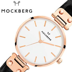 [あす楽]モックバーグ オリジナル 34mm 時計 MOCKBERG Original 腕時計 レディース ホワイト MO123 北欧 上品 ミニマル シック 大人 おしゃれ 人気 ブランド 女性用 彼女 妻 嫁 上品 かわいい 薄型 アクセサリー シンプル 革 ローズゴールド プレゼント ギフト 秋