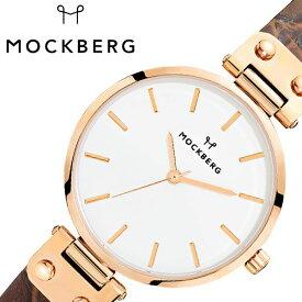 [あす楽]モックバーグ オリジナル 34mm 時計 MOCKBERG Original 腕時計 レディース ホワイト MO126 北欧 上品 ミニマル シック 大人 おしゃれ 人気 ブランド 女性用 彼女 妻 嫁 上品 かわいい 薄型 アクセサリー シンプル 革 ローズゴールド プレゼント ギフト 秋