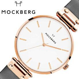 [あす楽]モックバーグ オリジナル 38mm 時計 MOCKBERG Original 腕時計 レディース ホワイト MO509 北欧 上品 ミニマル シック 大人 おしゃれ 人気 ブランド 女性用 彼女 妻 嫁 上品 かわいい 薄型 アクセサリー シンプル 革 ローズゴールド プレゼント ギフト 秋