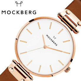 [あす楽]モックバーグ オリジナル 38mm 時計 MOCKBERG Original 腕時計 レディース ホワイト MO512 北欧 上品 ミニマル シック 大人 おしゃれ 人気 ブランド 女性用 彼女 妻 嫁 上品 かわいい 薄型 アクセサリー シンプル 革 ローズゴールド プレゼント ギフト 秋