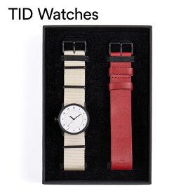 ティッドウォッチズ腕時計 TID watches時計 TID watches 腕時計 ティッドウォッチズ 時計 ホリデイセット Holiday Set メンズ レディース ホワイト 10300124HS 冬