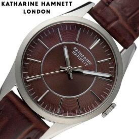 キャサリンハムネット 時計 KATHARINE HAMNETT 腕時計 ベーシックバリエーション Basic Variation レディース ブラウン KH70J1-74 人気 ブランド おすすめ おしゃれ 大人女子 小さめ 小物 光沢 ペアウォッチ シック かわいい KH オフィス ファッション プレゼント ギフト