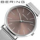 ベーリングチェリーブロッサム日本限定モデル桜時計BERING腕時計JapanLimitedCherryBlossomRebornメンズチェリーブラウンBER-13436-006人気おすすめ正規品サクラ大人おしゃれかっこいいシンプルクラシックビジネス仕事ギフトプレゼント