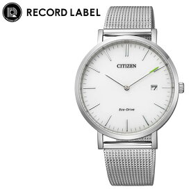 [当日出荷] シチズン 腕時計 レコードレーベル スタンダードスタイルプラス CITIZEN RECORD LABEL Standard Style + レディース ホワイト シルバー 時計 AU1080-54A 人気 おすすめ おしゃれ ブランド プレゼント ギフト