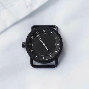 [あす楽]ティッドウォッチ腕時計TIDWatches時計TIDWatches腕時計ティッドTIDウォッチ時計TID腕時計メンズ/レディース/ユニセックス/男女兼用/ブラックTID01-BK[革ベルト/おしゃれ/防水/北欧/アナログ/ダークブラウン][送料無料][入学祝い/就職祝い][プレゼント]