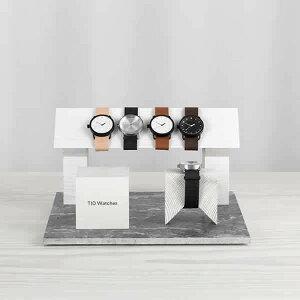 ティッドウォッチズ腕時計40mmTIDWatches時計TIDWatches腕時計ティッドTIDウォッチ時計TID腕時計メンズレディースユニセックス男女兼用[革ベルトおしゃれ防水北欧アナログダークブラウンブラック][送料無料][ギフトプレゼント][B][ホワイトデー]