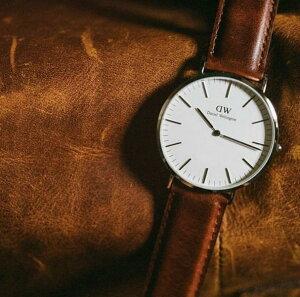 ダニエルウェリントン腕時計DanielWellington腕時計ダニエルウェリントン時計クラシックシルバーローズゴールドCLASSIC36mmメンズ/レディース/オフホワイト[正規品/シンプル/ピンクゴールド/DW/人気/定番/フォーマル]