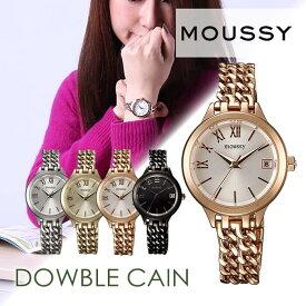 80382ff3dd マウジー 腕時計 ダブルチェイン Double Chain レディース 女性用 MOUSSY時計 マウジー時計 マウジー MOUSSY Big