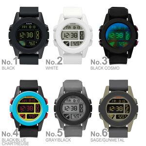 [ポイント10倍][送料無料][正規品]ニクソン腕時計NIXON時計nixon(ニクソン)腕時計ニクソン時計ユニットUNITBLACKメンズ/ブラックNA197000-00[デジタルブラック]