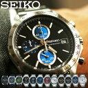 セイコー メンズ 腕時計 スピリット SEIKO SPIRIT 時計 メンズ SBTR 正規品 クロノグラフ アナログ シルバー ゴールド…