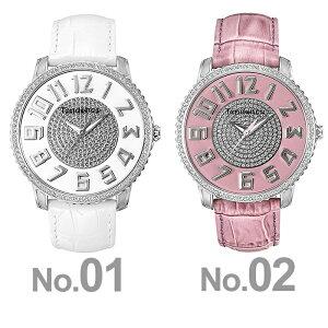 テンデンス時計スリム41TENDENCE腕時計SLIM41メンズレディースホワイトS-TY132005[正規品新作人気ブランド防水高級プレゼントギフト革レザーシルバーユニセックス]