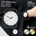 ティッドウォッチズ 時計 本体 36mm ホワイト ブラック シルバー ゴールド No.1 TID Watches 腕時計 ティッド メンズ …