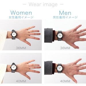 ティッドウォッチズ腕時計40mmTIDWatches時計TIDWatches腕時計ティッドTIDウォッチ時計TID腕時計メンズレディースユニセックス男女兼用[革ベルトおしゃれ防水北欧アナログダークブラウンブラック][送料無料][ギフトプレゼント][B]
