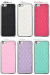 iPhone5c専用キルティングレザー調ケース(ブラック、ホワイト、ビビットピンク、ピンク、パープル、ライトグリーン)アイフォン5カバースマホケーススマホカバー