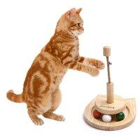 猫用おもちゃウッディーキャットーイグルグル玉ころドギーマンハヤシ