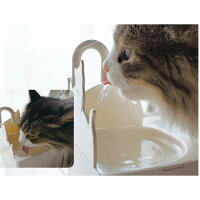 猫用自動給水器ねこCAFEWATER(ねこカフェ)猫用給水器循環型水飲みスタンドドギーマン【激安】【02P01Nov14】【マラソン201411_送料込み】
