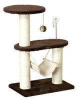 キャティースクラッチリビングコンパクトハンモックキャットタワードギーマン猫タワーねこタワー【dg84131】【激安】【02P12Oct14】【マラソン201410_送料込み】