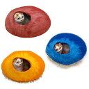 送料無料 猫用 キャットハウス ウールフェルトポッド ドームベッド キャティーマン ドーム ドギーマン キャットベッド…