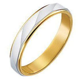 送料無料 結婚指輪 マリッジリング ペアリング 18金とプラチナのコンビのマリッジリング パイロット「True Love トゥルーラブ 」M150 プラチナ900&K18ゴールド コンビ メンズ レディース シンプル 文字彫り無料【楽ギフ_名入れ】
