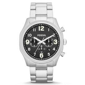 FOSSIL フォッシル Foreman フォアマン FS4862 黒文字盤 5気圧防水 クロノグラフ メタルバンド メンズ腕時計
