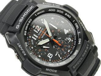 CASIO G-SHOCKカシオ 逆輸入Gショック アナログChroographWrist watch UrethaneBelt G-1100B-1A