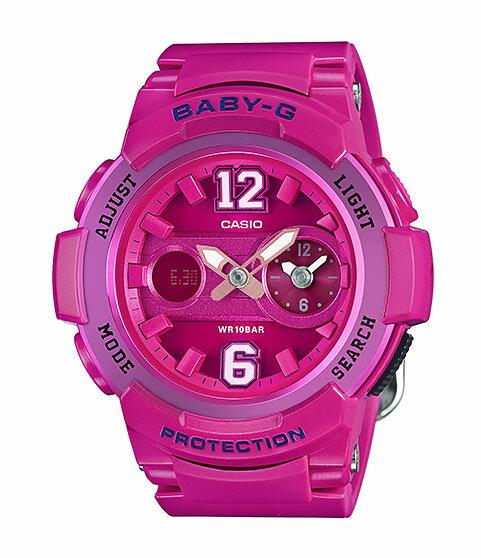 カシオ CASIO BABY-G ベビーG アナデジ レディース 腕時計 ピンク BGA-210-4B2JF 国内正規品