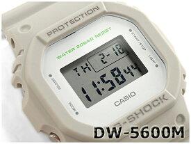 G-SHOCK Gショック ジーショック 5600系 カシオ CASIO ミリタリー・シリーズ デジタル 腕時計 カーキベージュ DW-5600M-8CR DW-5600M-8【あす楽】
