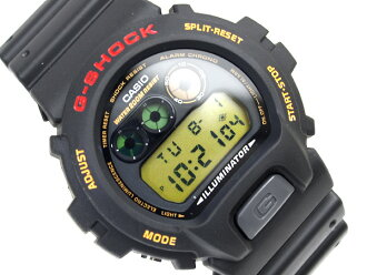 Casio reimport G shock Digital Watch Gold Crystal Black urethane belt DW-6900G-1