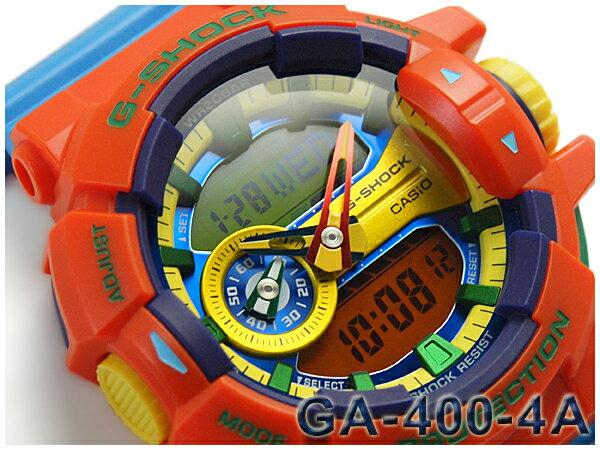 GA-400-4AER G-SHOCK Gショック ジーショック gshock カシオ CASIO 腕時計