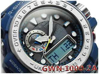 CASIO G-SHOCK GULFMASTER 카시오 G 쇼크 걸프 마스터 역 수입 해외 모델-디지털 전파 솔 러 전파 시계 남자 시계 블루 GWN-1000-2ADR GWN-1000-2A