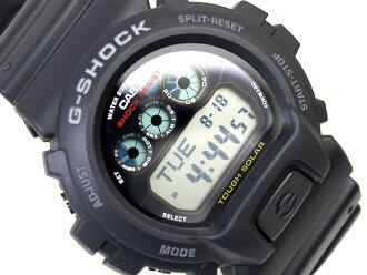 凱西歐海外型號 G 休克太陽能數位手錶聚氨酯皮帶 G-6900-1